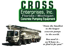 Cross Enterprise, Inc. Concrete Pumping